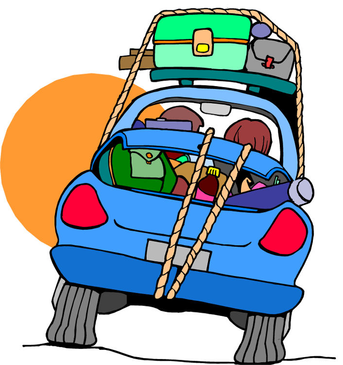 Travel clipart car ride Family Cliparts Clipart Travel Zone
