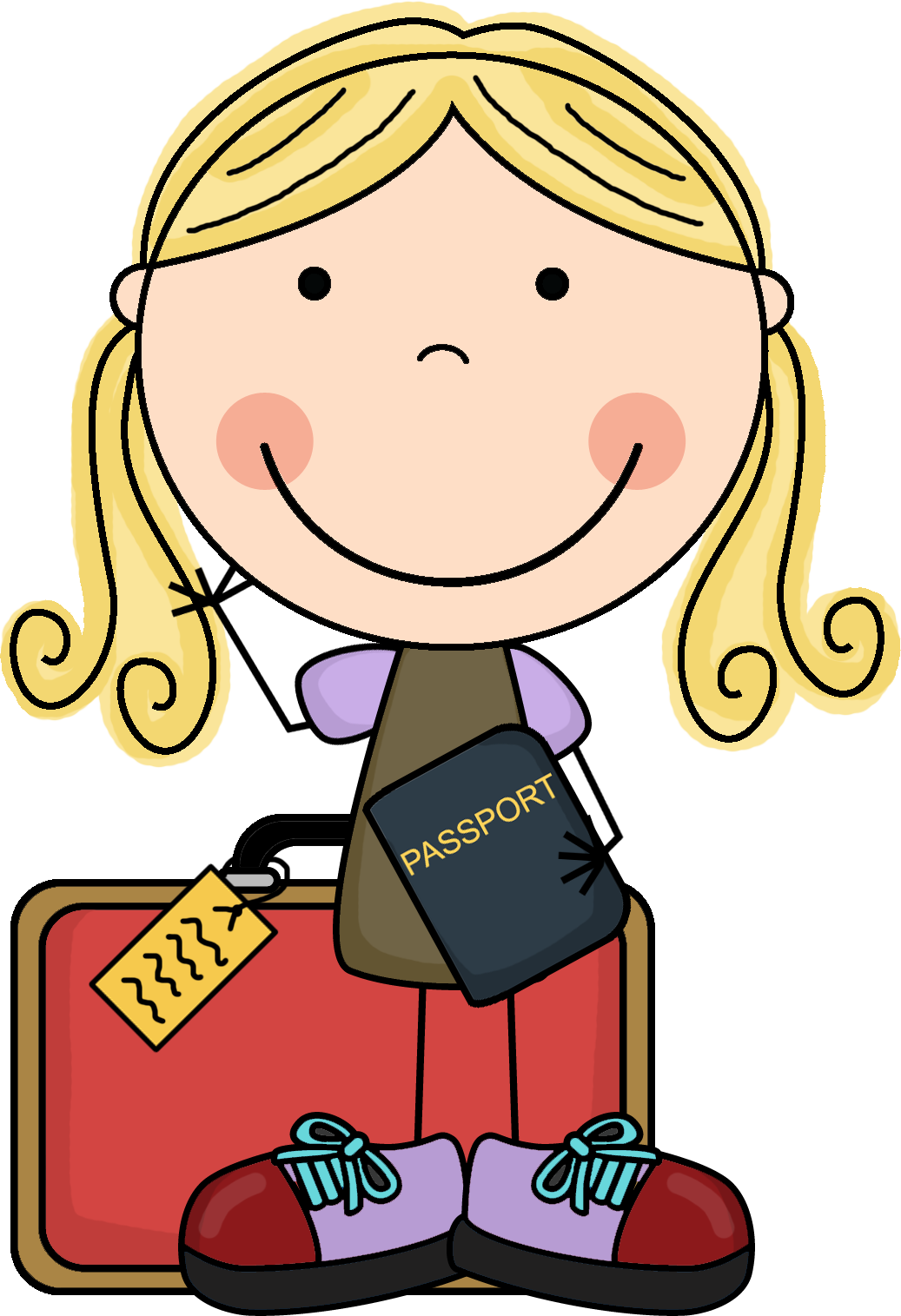 Travel clipart family time Trip Clipart Packing Travel Cliparts
