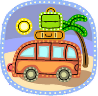 Travel clipart family time Beach thinking a have Myrtle
