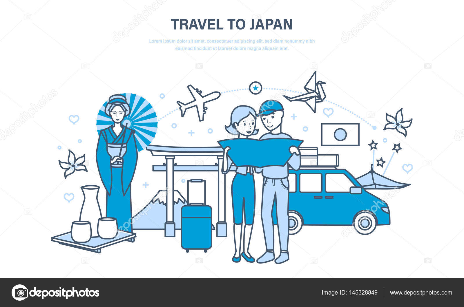 Travel clipart family tradition And family joint with design