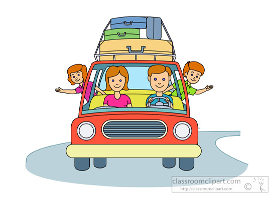 Vacation clipart travel Clipart Travel Cliparting kid Family