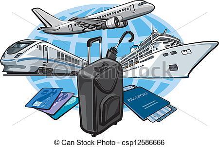 Aviation clipart travel Travel concept travel for Art