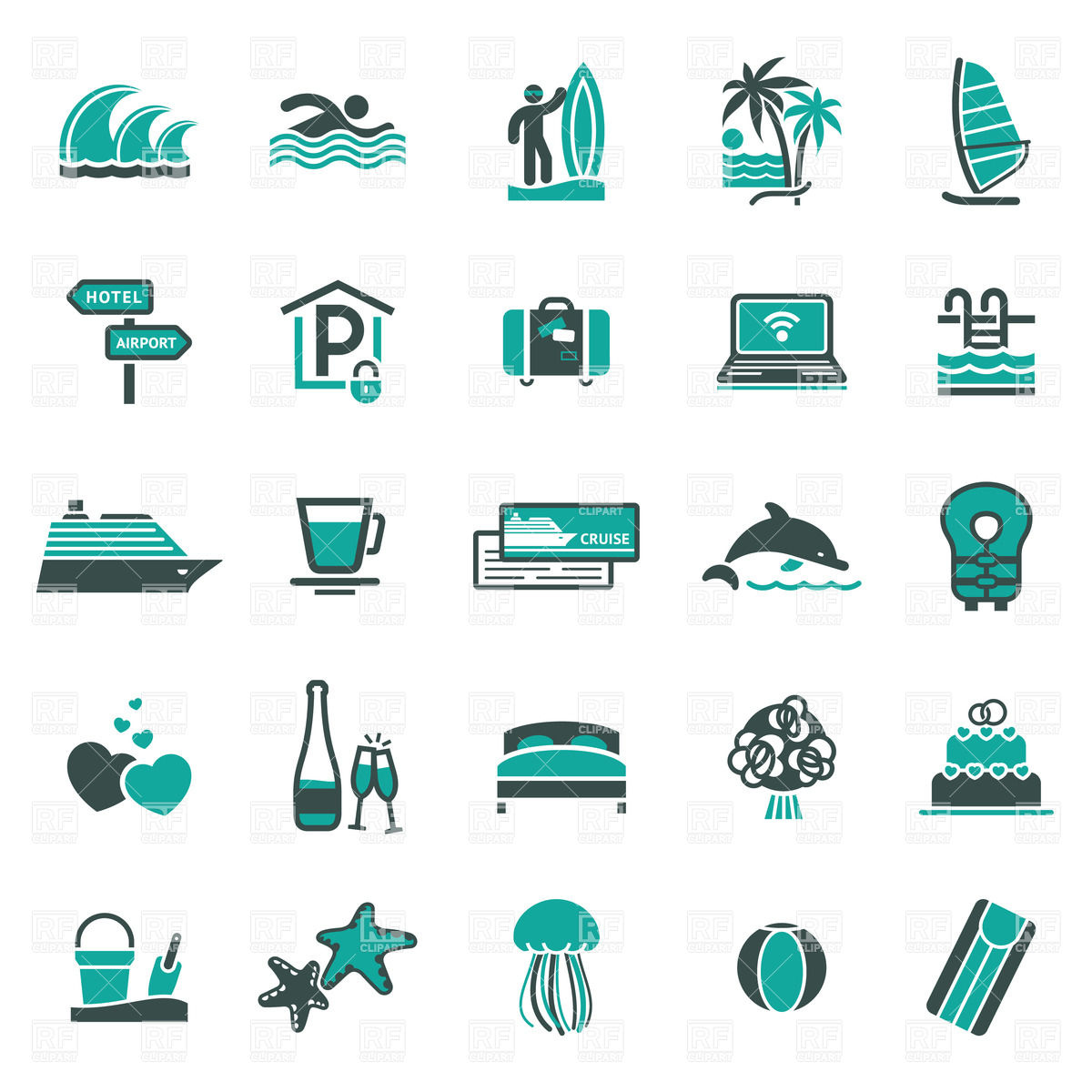 Vacation clipart honeymoon Free free download travel –