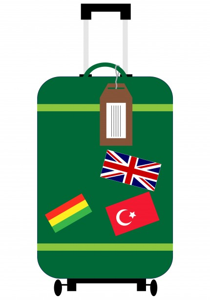 Travel clipart holiday suitcase  Domain Suitcase Photo Free