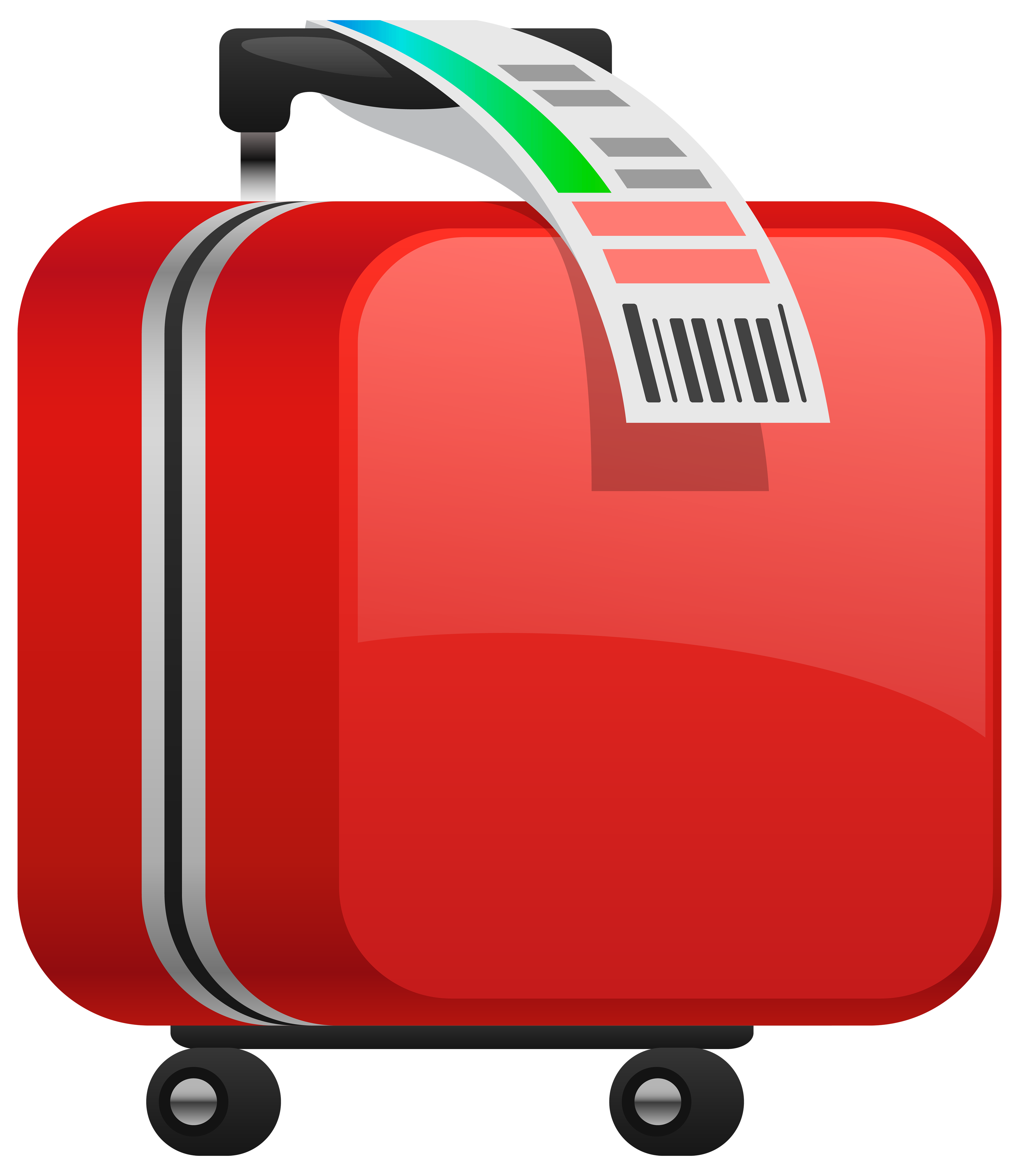 Travel clipart holiday suitcase Com Checked clipartfest Cliparting suitcase