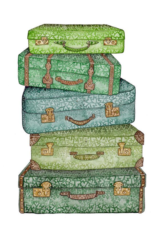 Travel clipart holiday suitcase Clip Pinterest images ArtSuitcasesTravellingEmbellishmentsPlannersScrapTravelVinylFish bags