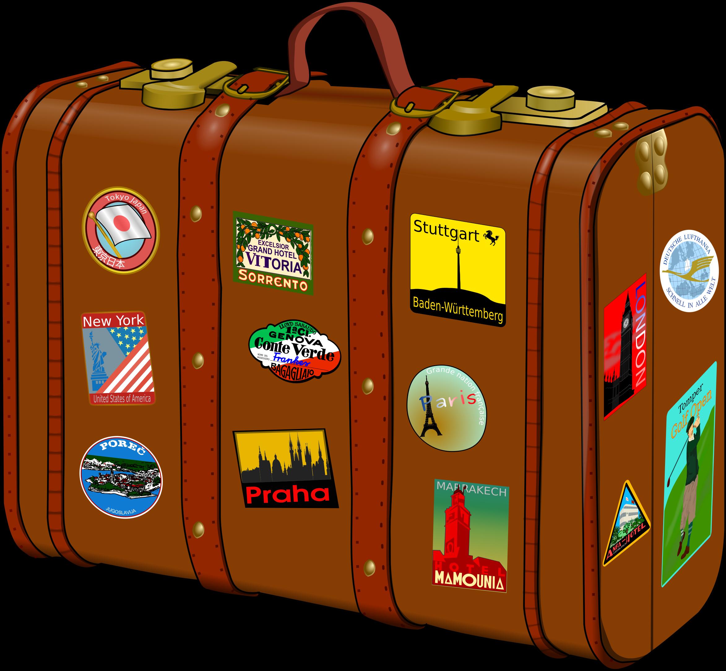 Travel clipart holiday suitcase KofferV3 Organizing Organizer Suitcase! Professional