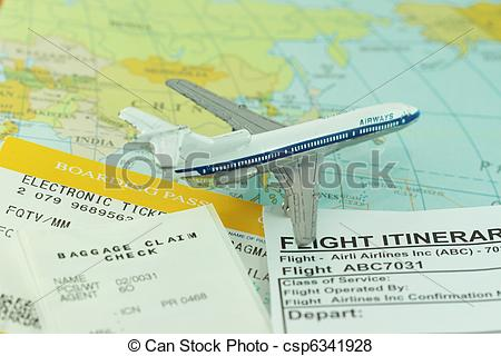 Travel clipart itinerary Travel trip and and Travel