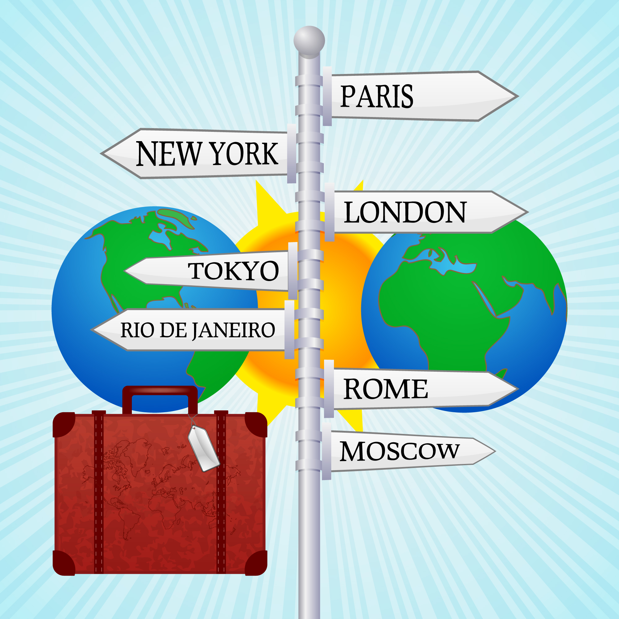 Travel clipart itinerary The Perfect  Itinerary Travel
