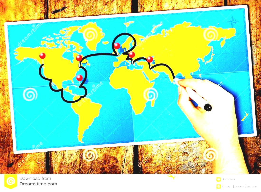 Travel clipart itinerary With Felt Image Male Pins