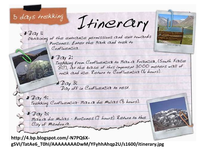 Travel clipart itinerary Clipart Trip Itinerary Download Trip