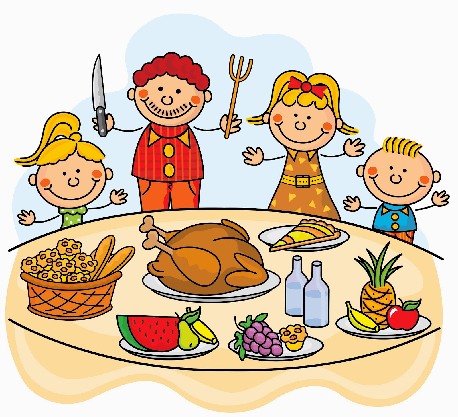 Roast clipart diner North for Family Thanksgiving Thanksgiving