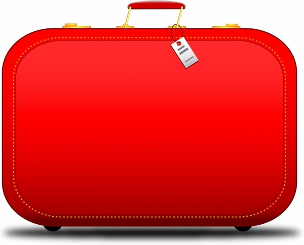 Stamp clipart luggage #4