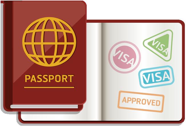 Stamp clipart visa #2