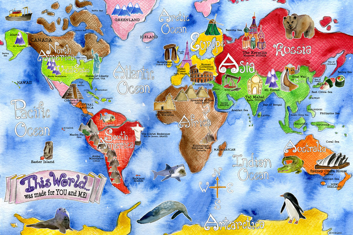 Continent clipart world history Of clipart Free world Map