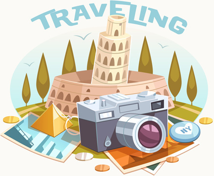 Photography clipart vintage travel Travel vector (43 vintage
