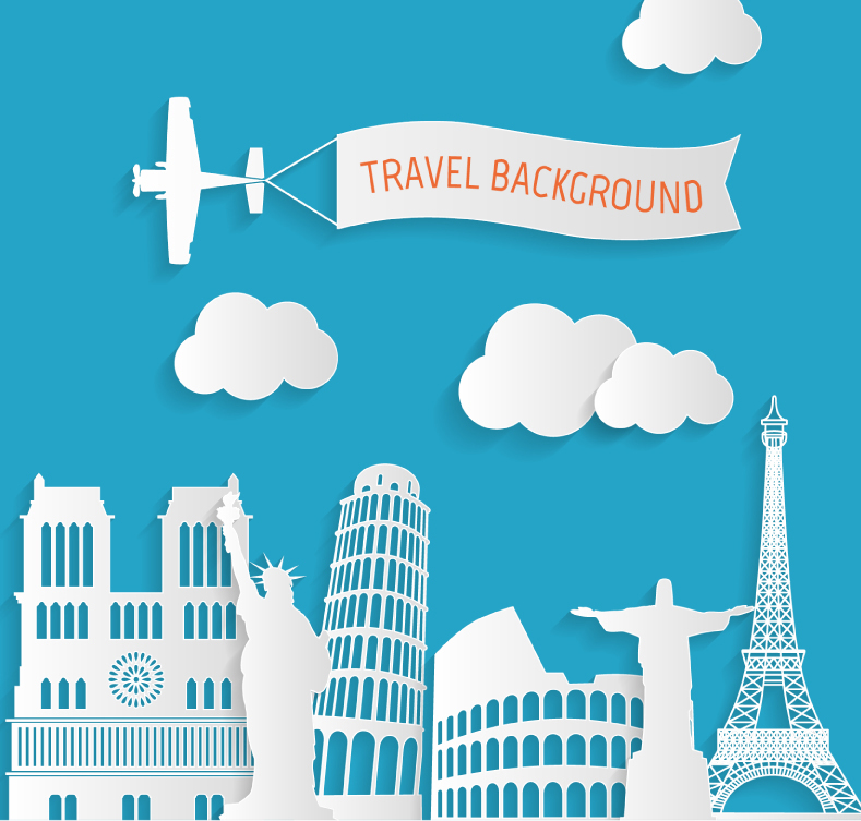 Travel clipart world travel Clipart Travel Vector World Vector