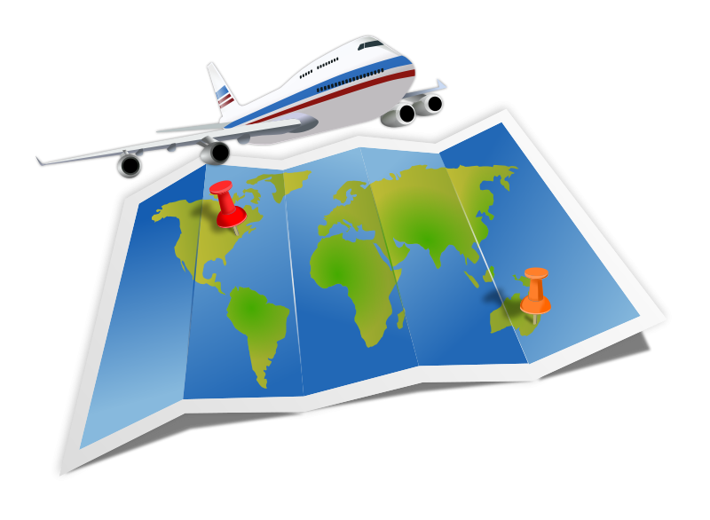 Aviation clipart travel Travel Panda Free Images Clipart