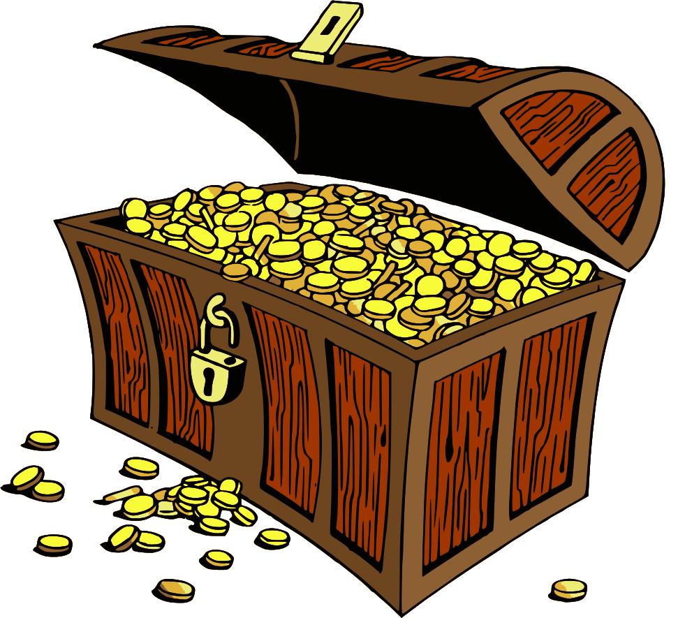Chest clipart pile treasure Treasure clipart art inspiration cliparts