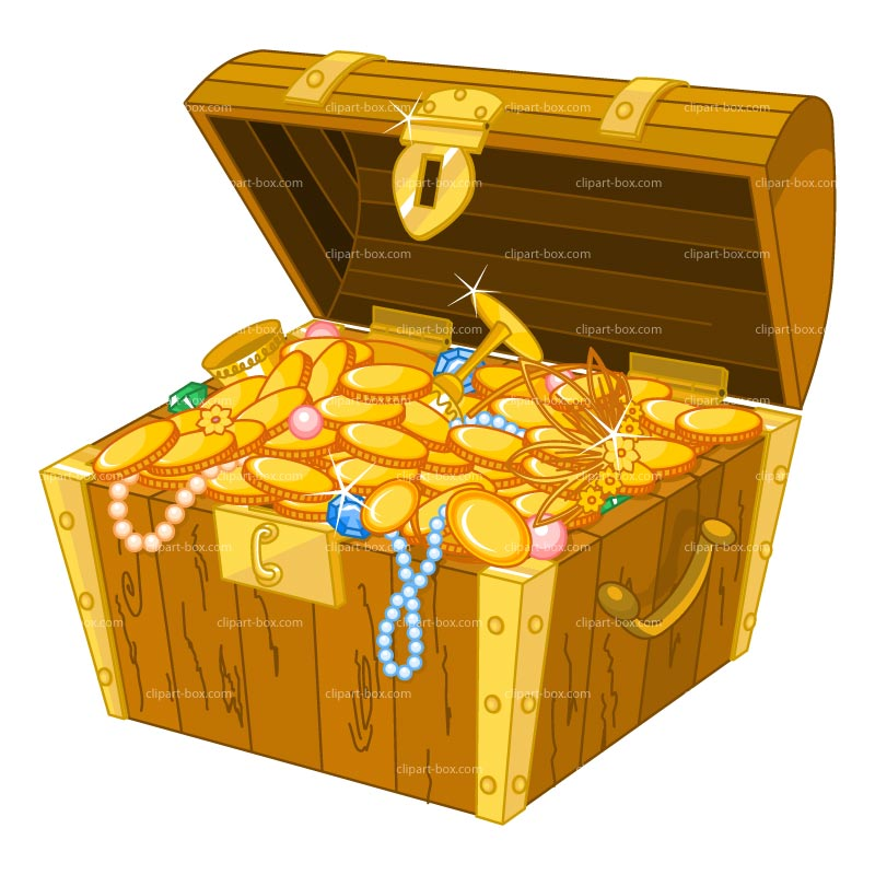 Treasure clipart Chest Pirate Clipart Clipartix treasure