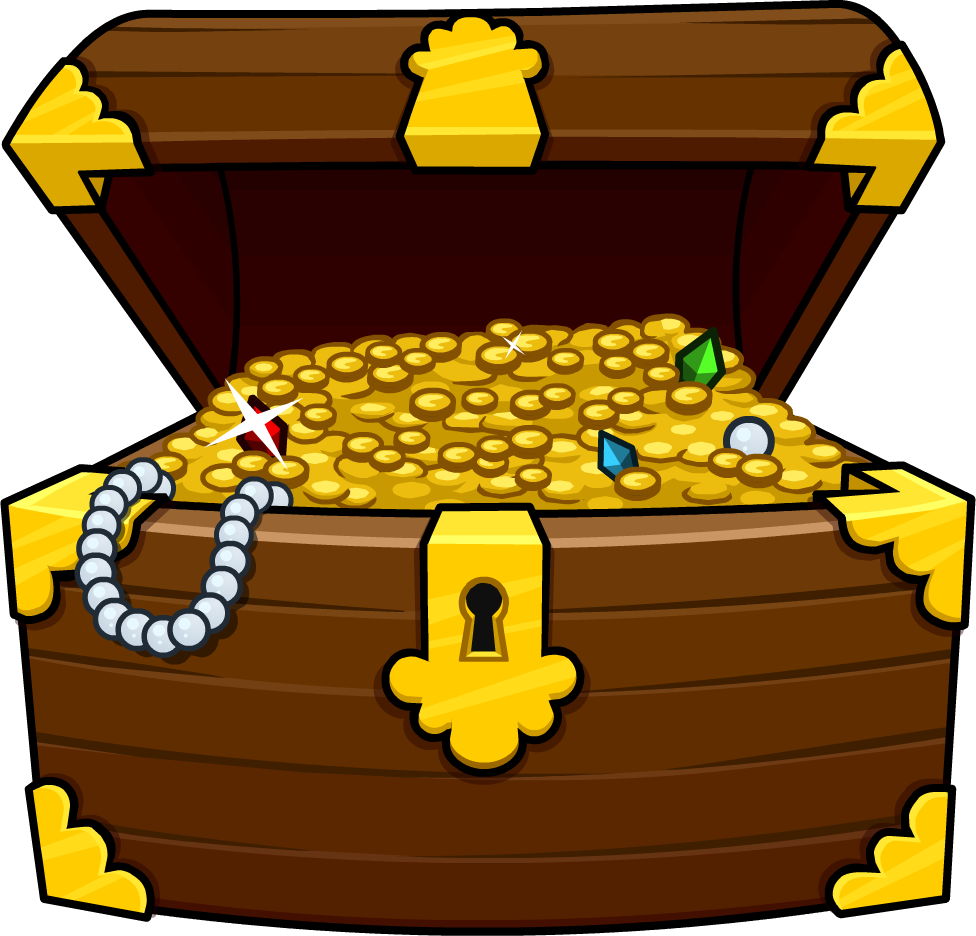 Treasure clipart Chest Clipartix Free Chest Pictures