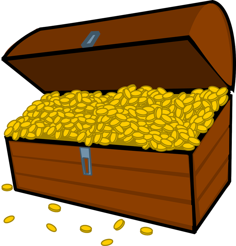 Treasure clipart Chest & Free Free Art