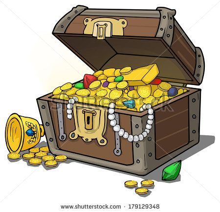 Chest clipart buried treasure Vector of on 56 about