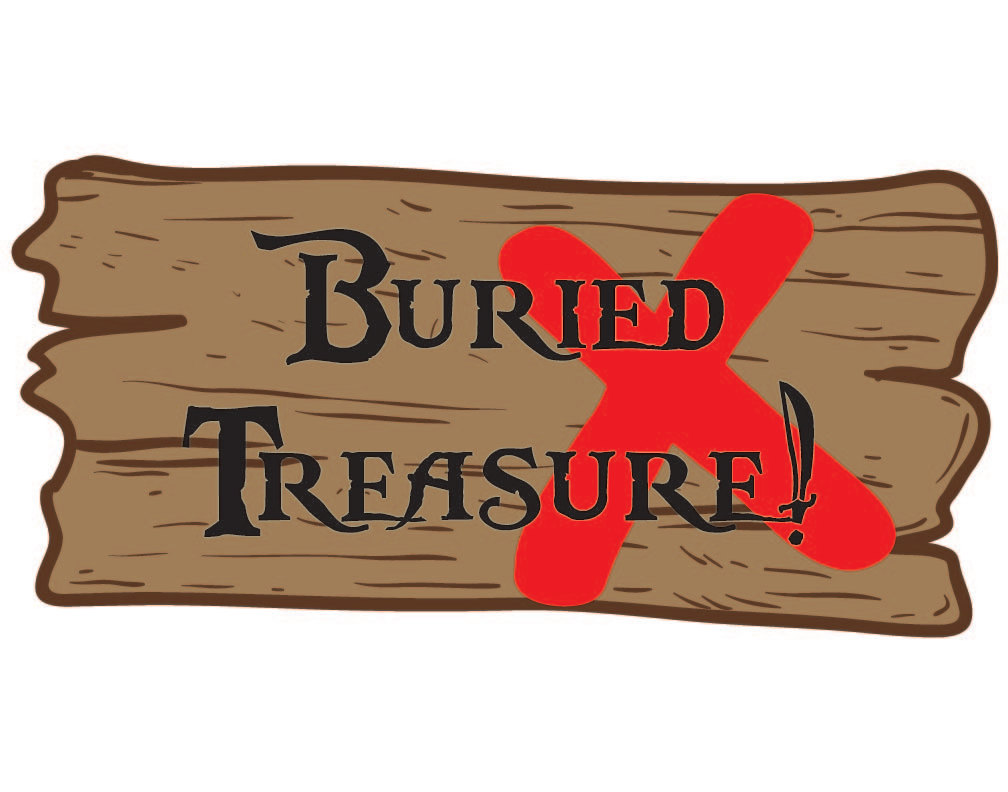 Treasure clipart buried treasure Buried Sign Treasure Sign Treasure