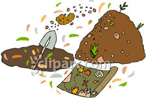 Treasure clipart buried treasure Picture Digging a Free Royalty