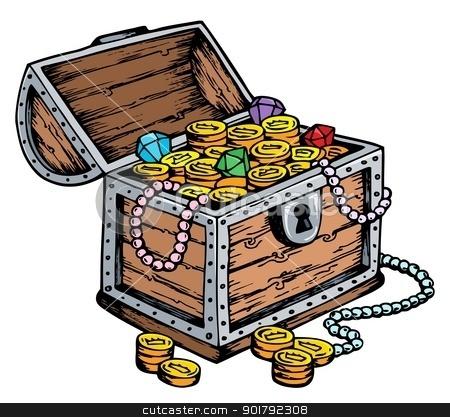 Treasure clipart cartoon pirate Pirate photo#17 chests Chests treasure