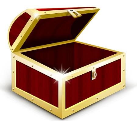 Treasure clipart empty Clipart clipart treasure empty Open