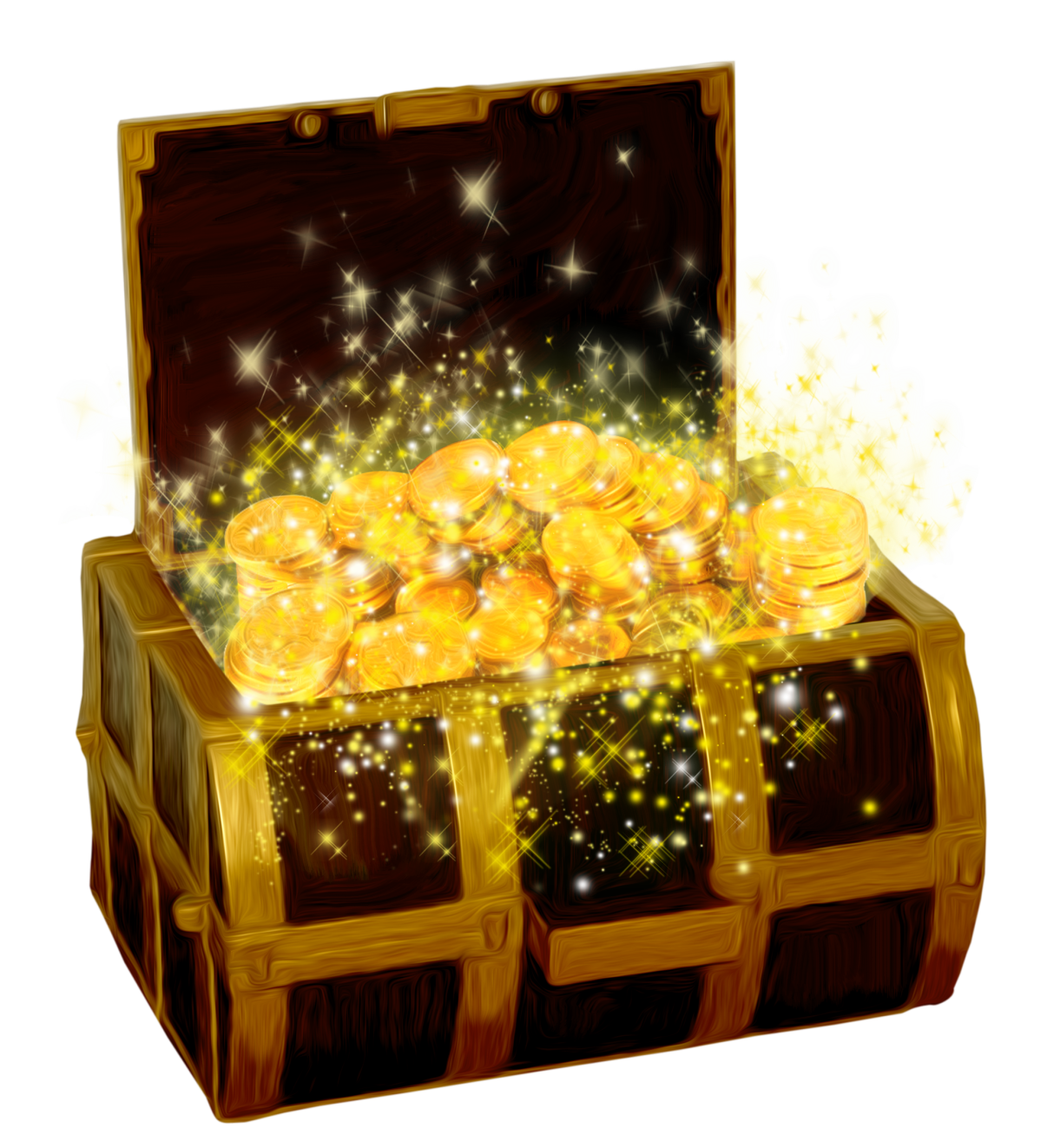 Box clipart transparent background Picture Chest PNG full with
