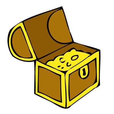 Treasure clipart pirate treasure Clipartix treasure chest art treasure