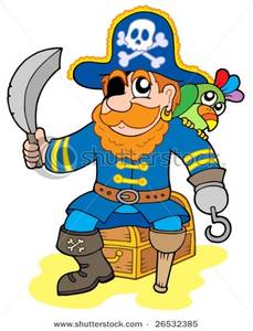 Treasure clipart pirate treasure Pirate Treasure Chest Image: Pirate