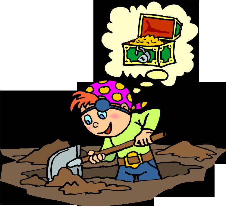 Treasure clipart treasure hunting Treasure — Job b BlogHoshana