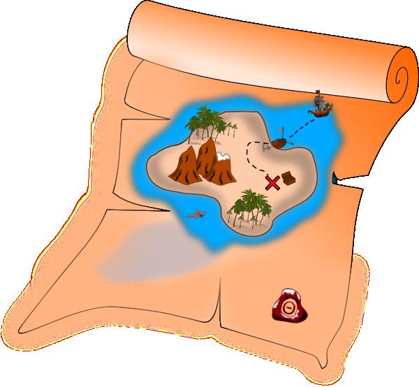 Treasure clipart treasure map Free a Use your Public