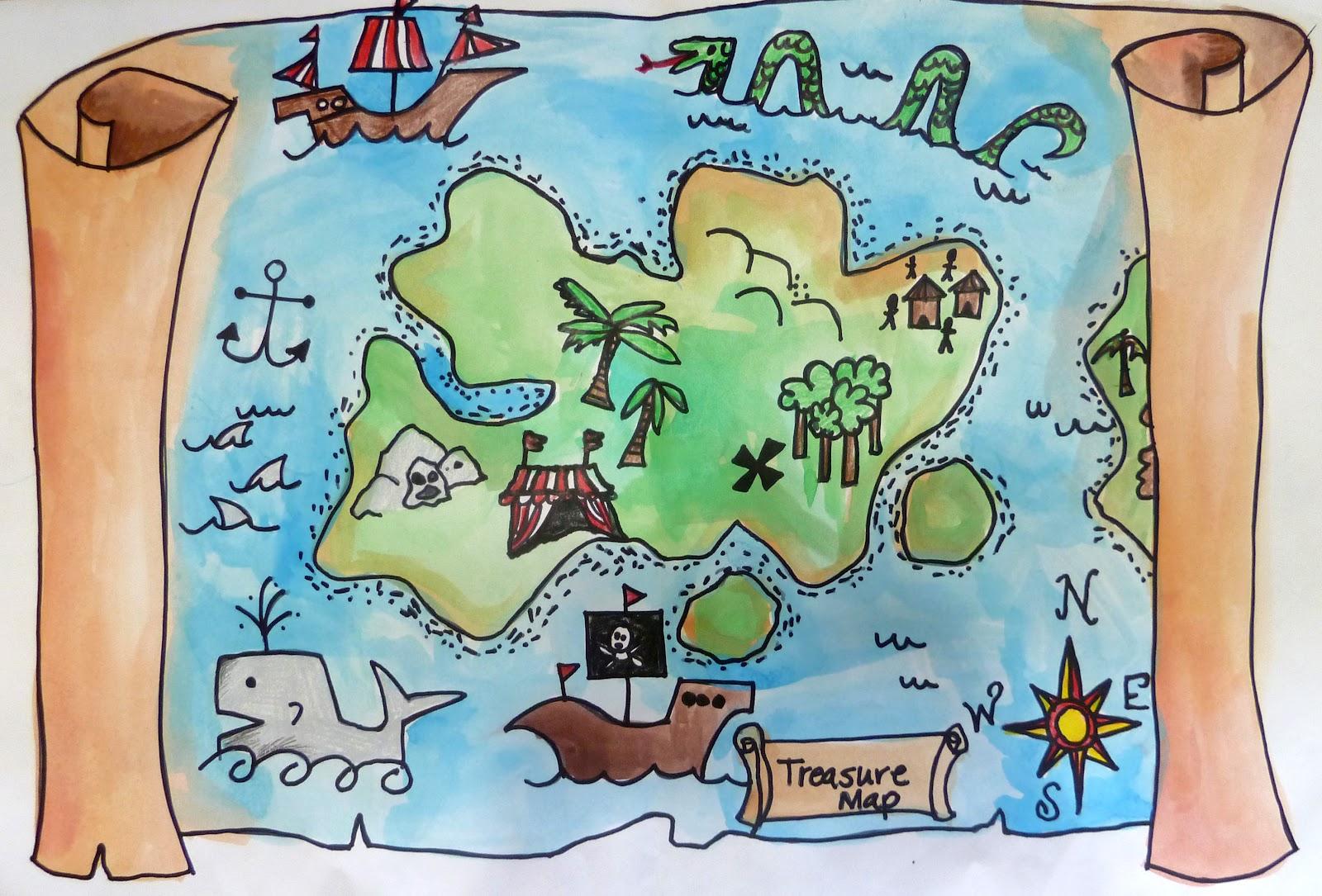Treasure clipart treasure map Keywords Long Suggestions  Related