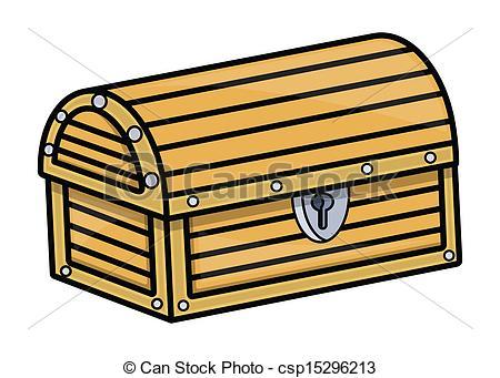 Treasure clipart trunk Vector Drawing Cartoon Art Cartoon