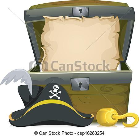 Treasure clipart vector Clipart Pirate Illustration Chest an
