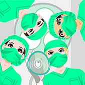 Treatment clipart operating room GoGraph Doctors Room Hospital Patient