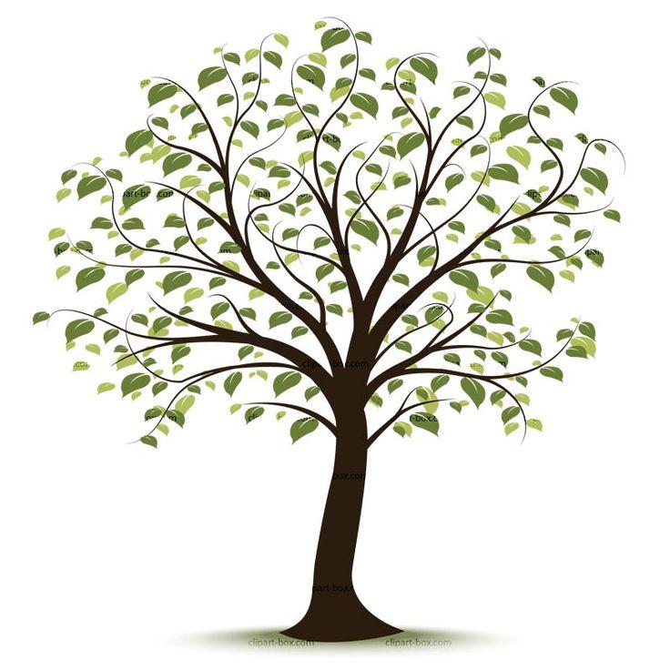 Tree clipart Pinterest tree 25+ ideas art