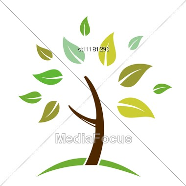 Tree clipart abstract #11