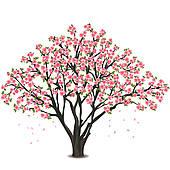 Tree clipart apple blossom #6