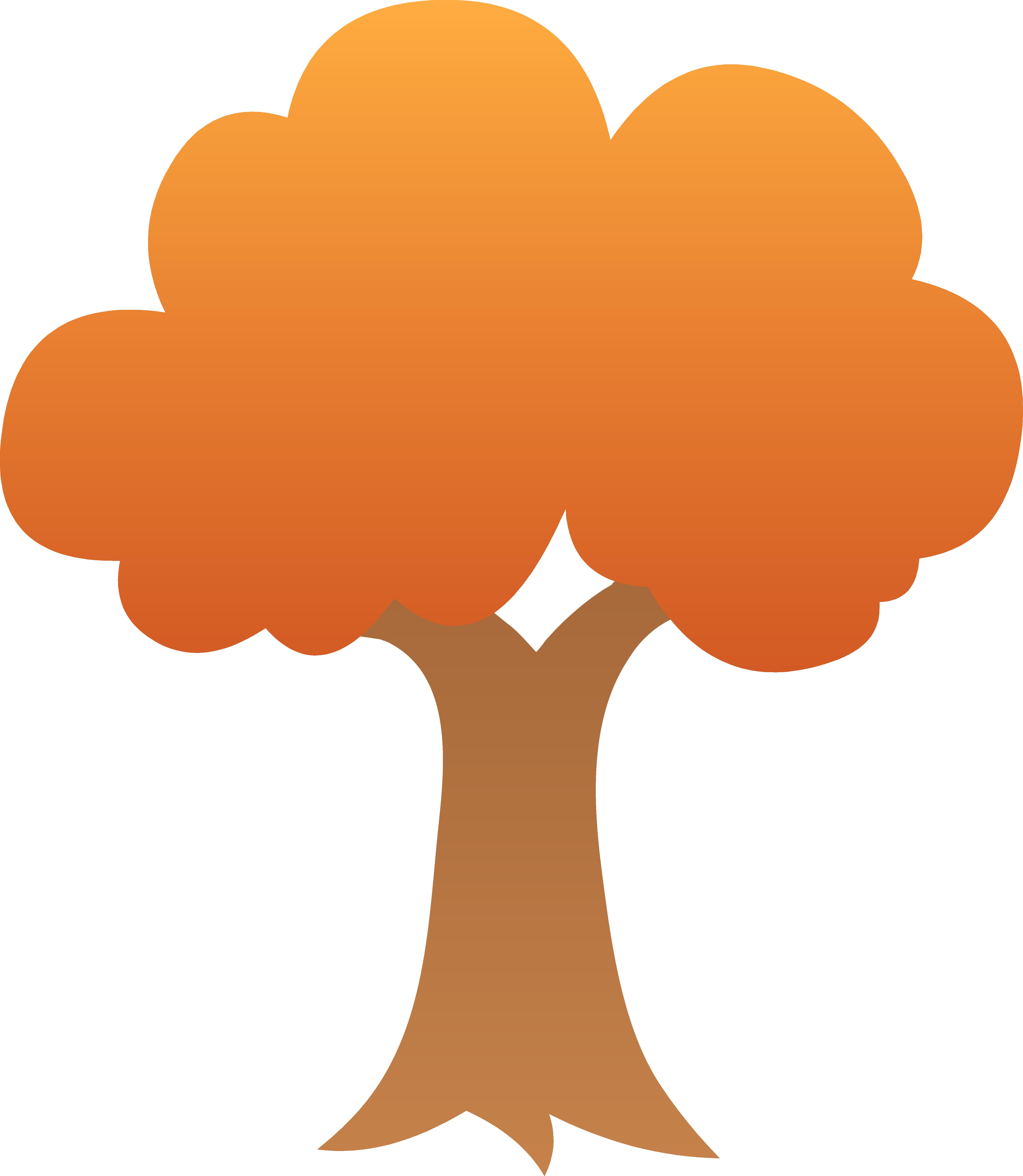 Tree clipart autum #13