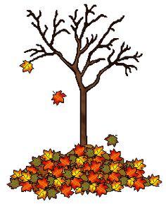Tree clipart autum #14