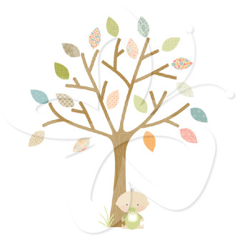 Tree clipart baby shower #11