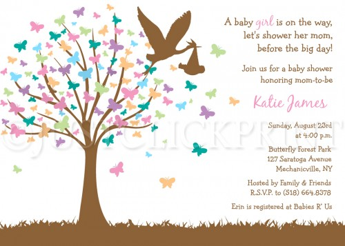 Tree clipart baby shower #8