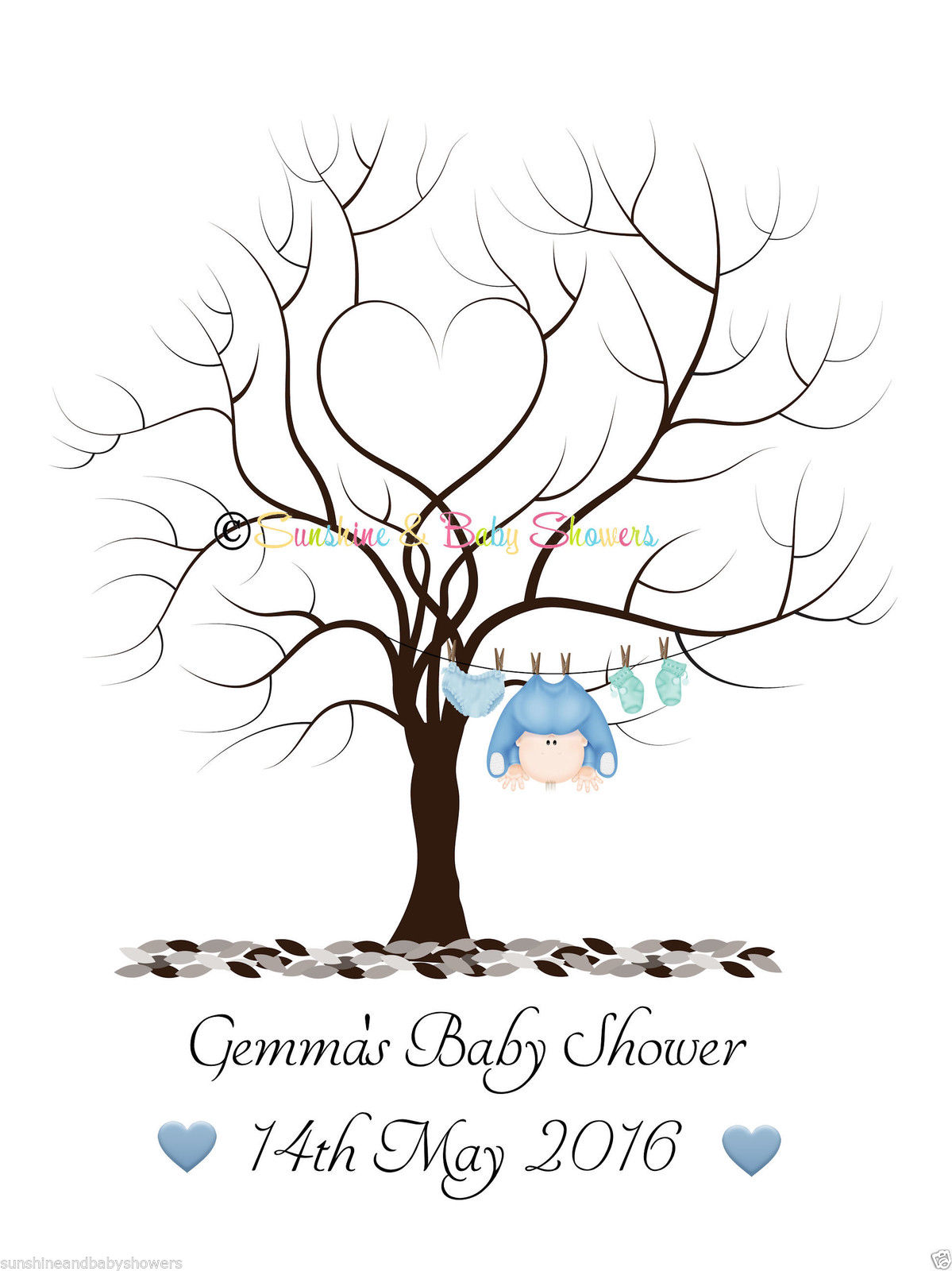 Tree clipart baby shower #12