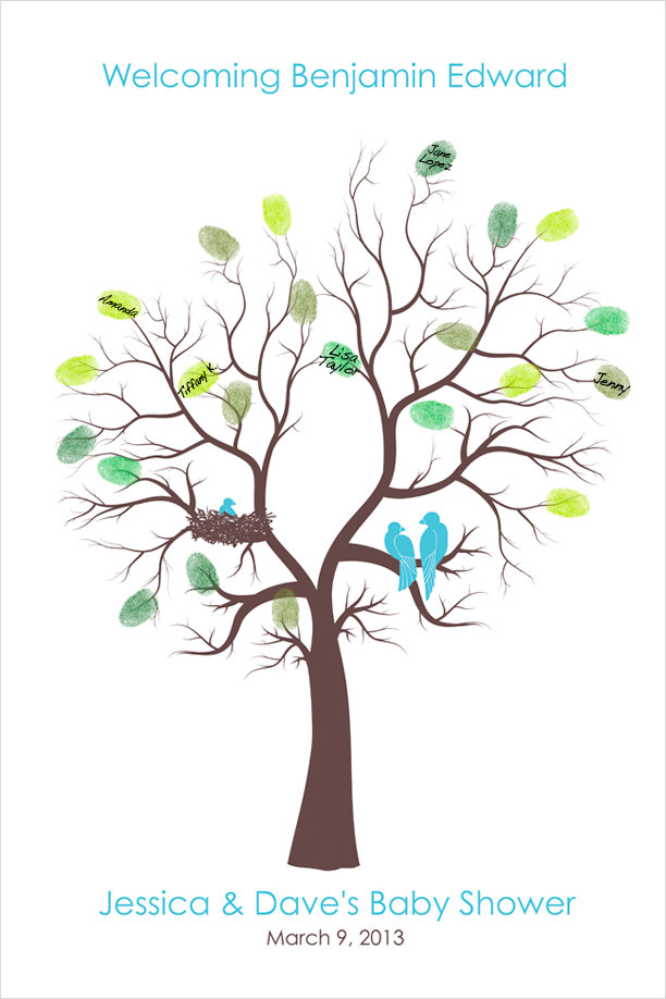 Tree clipart baby shower #9
