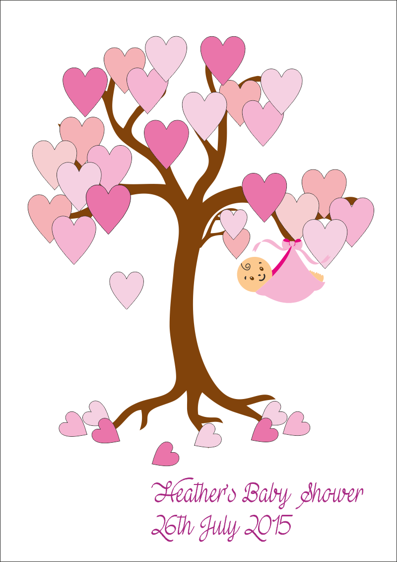Tree clipart baby shower #4